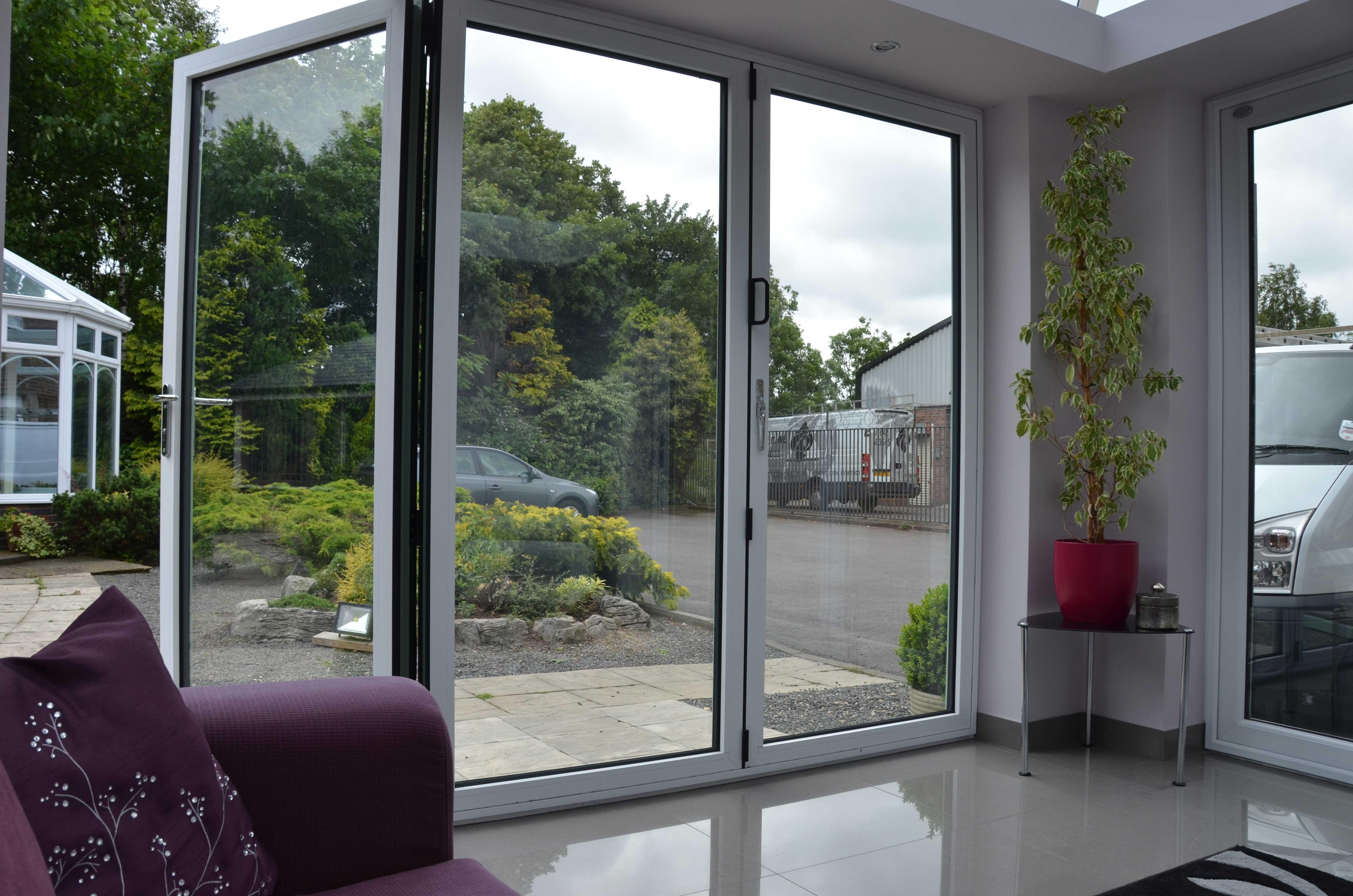 White Bi-Fold Doors Internal