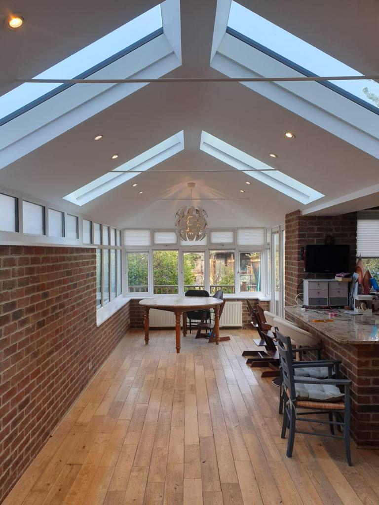Skylights and White UPVC Windows & Doors