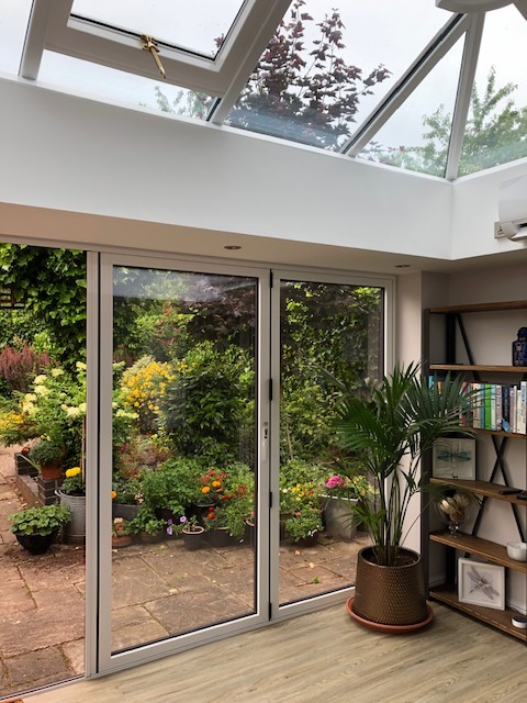 Orangery and UPVC Windows & Doors in White