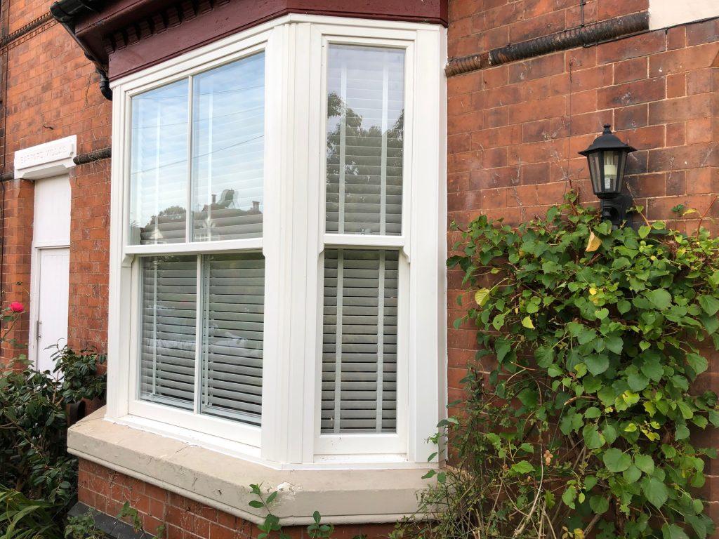 White Rehau Heritage Window