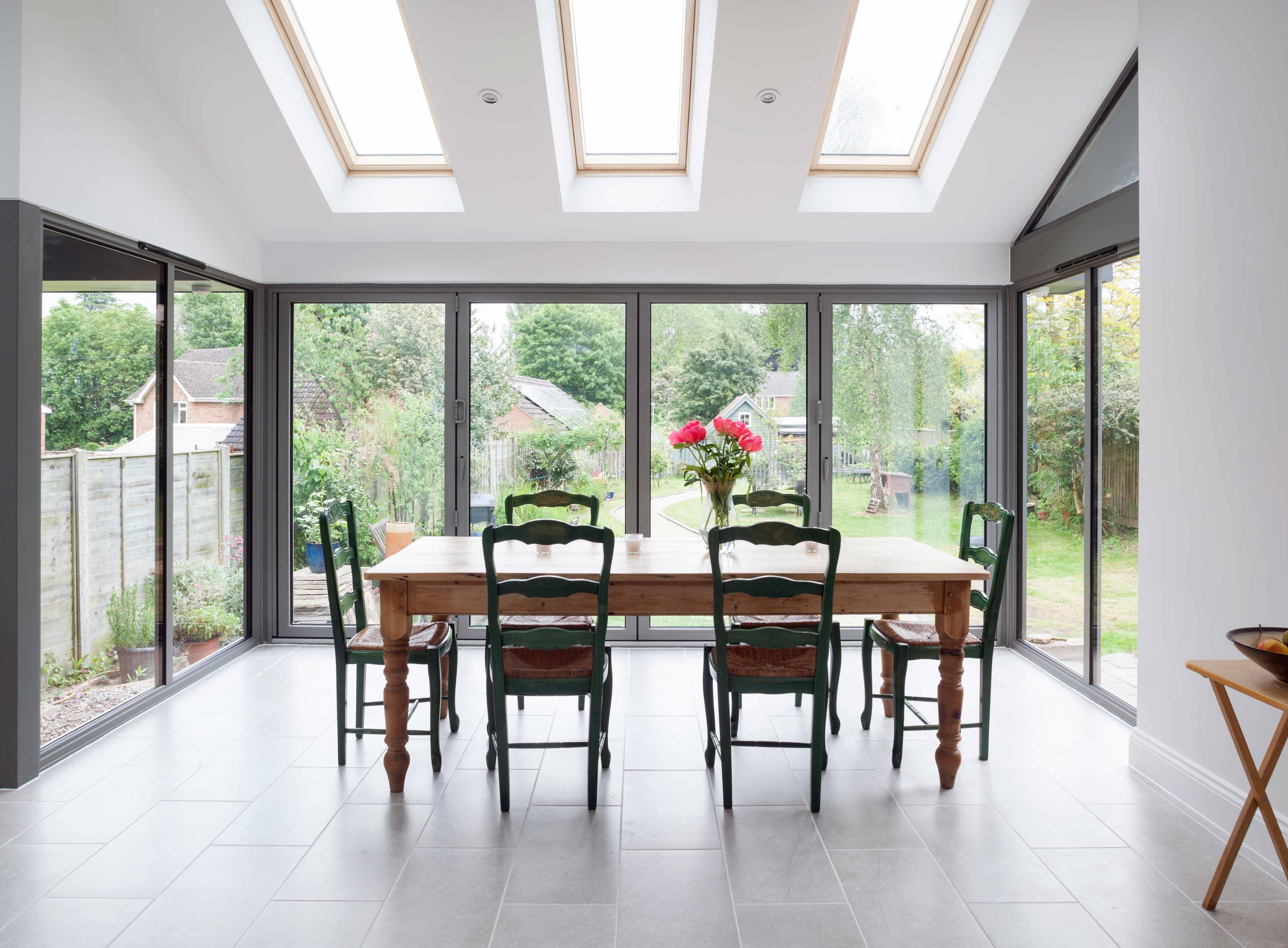 Bi-Fold Doors and Skylights Internal