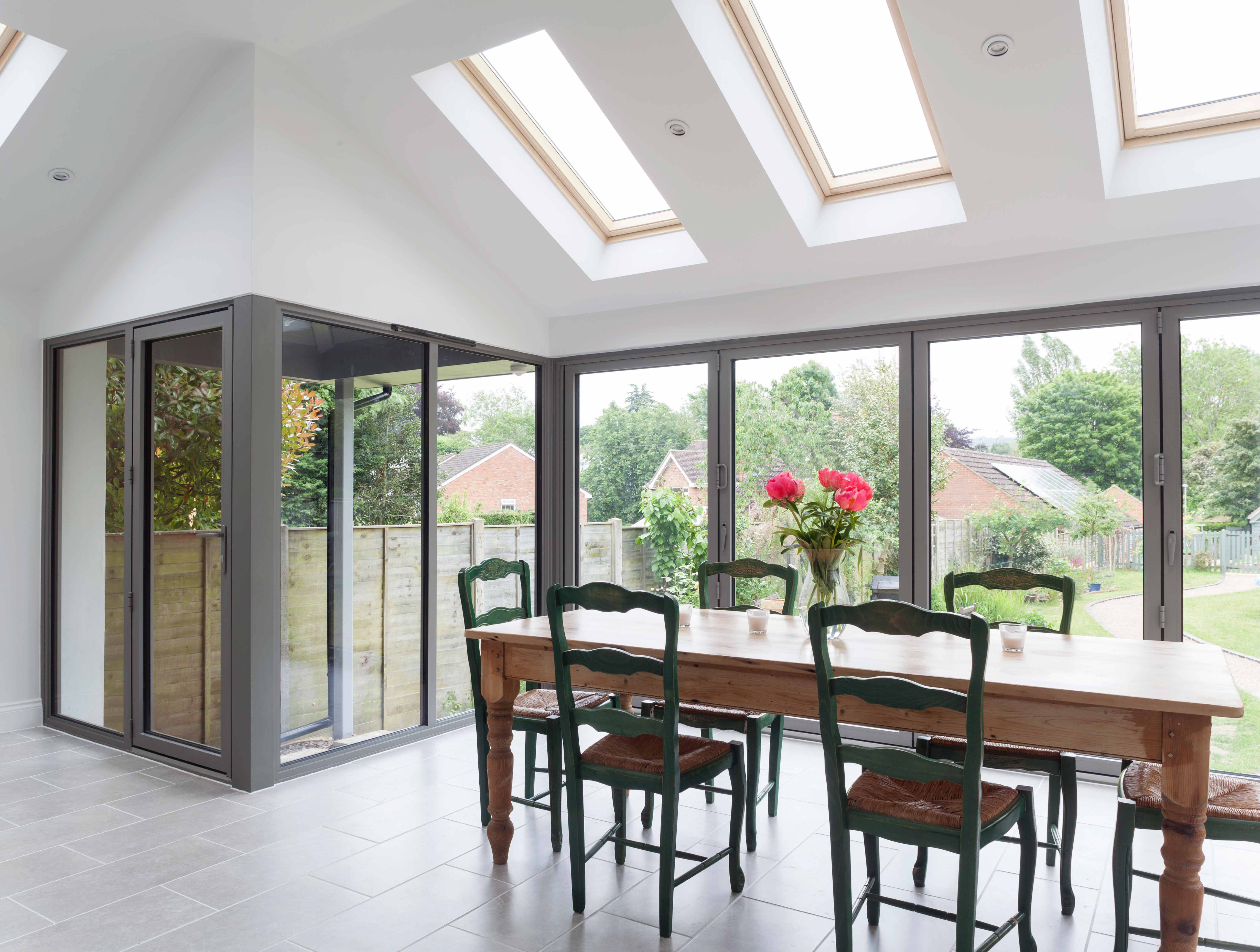 Bi-Fold Doors and Skylights Internal